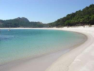 Playa de las islas Cíes