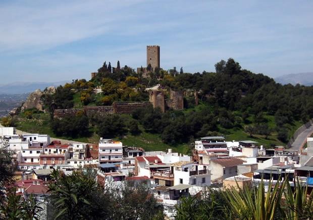 castillo de Vélezz Málaga. Ruta por la costa del Sol