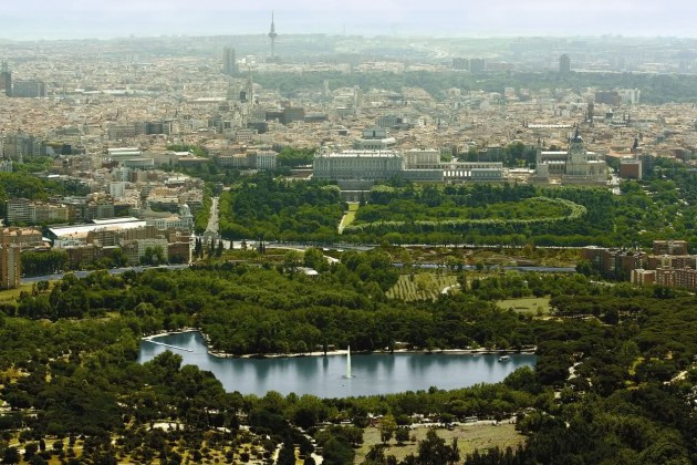 Rutas de parques de Madrid