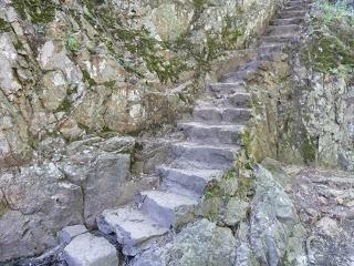 Escaleras de bajada