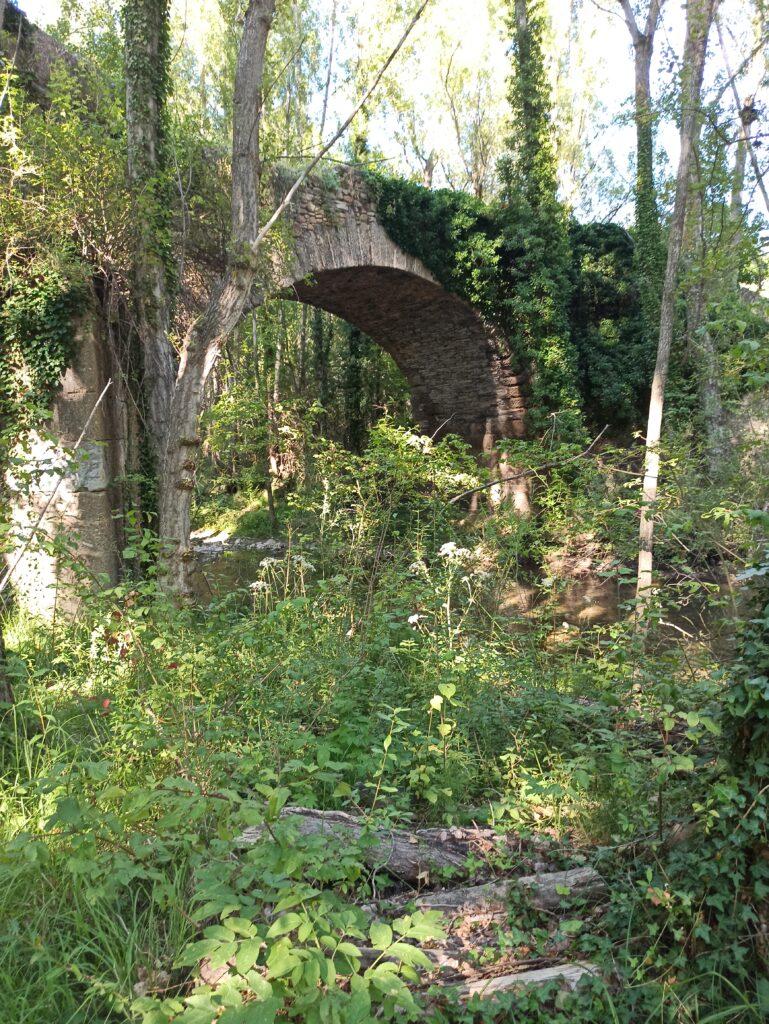 Puente sobre el río Cidacos