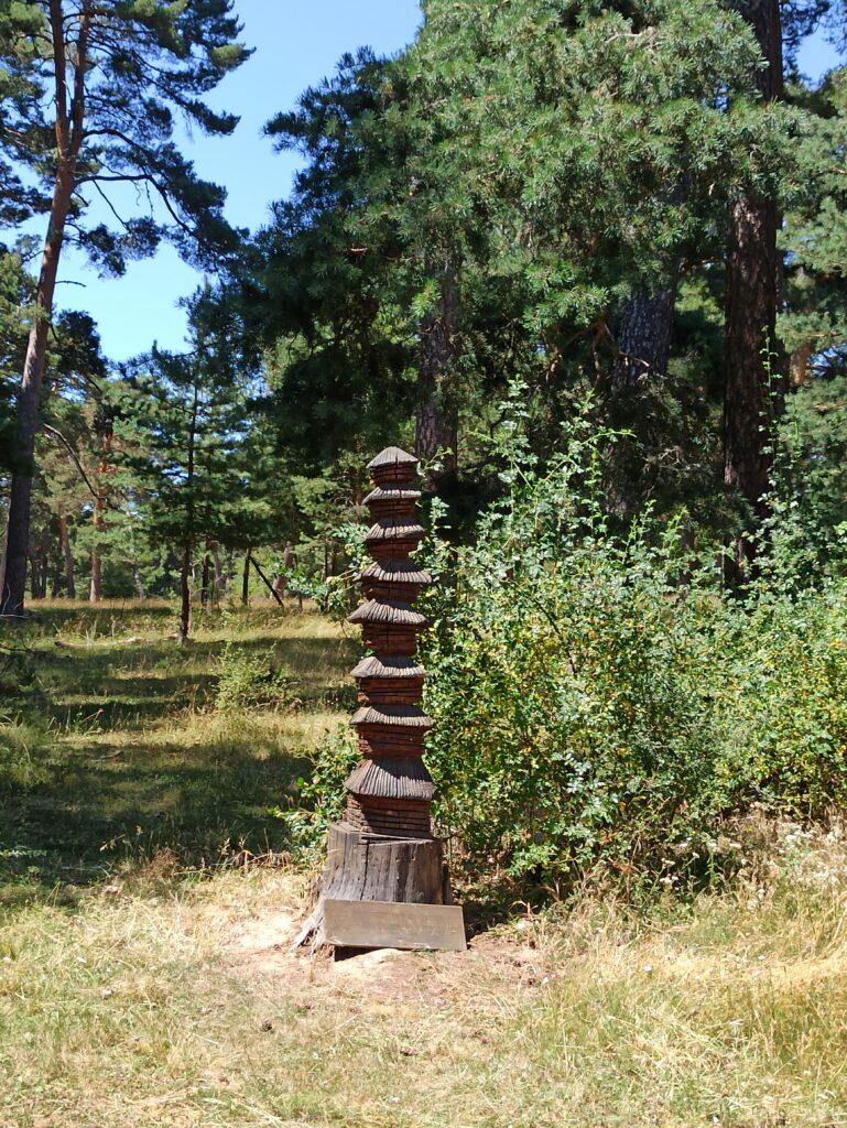 Pagoda en la ruta de las Estatuas