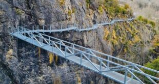 Pasarela y puente de Panticosa